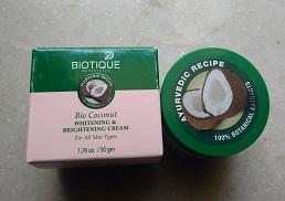 IMG 20170430 112709564 Biotique Bio Coconut Cream: Whitening and Brightening
