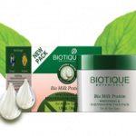 biotique milk protein 150x150 Biotique Bio Myristica Spot Correcting Face Pack