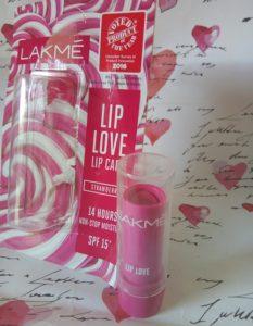 IMG 20170831 134030 233x300 Lakme Lip Love Lip Balm Strawberry Review