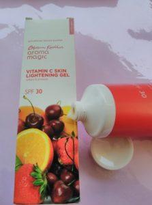 IMG 20180304 133458 223x300 Blossom Kochchar Aroma Magic Vitamin C Skin Lightening Gel Review