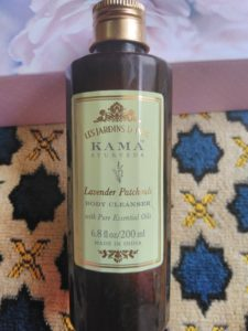 IMG 20180310 122750 225x300 Kama Ayurveda Lavender Patchouli Body Cleanser Review