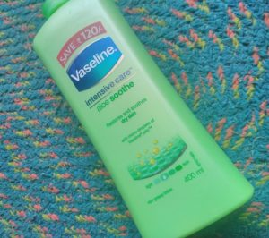 IMG 20180515 115407 300x266 Vaseline Intensive Care Aloe Soothe Body Lotion Review