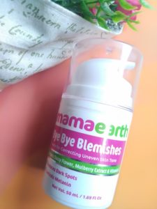 IMG 20181011 124606 225x300 Mama Earth Bye Bye Blemishes Cream Review