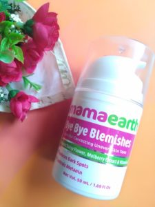 IMG 20181011 124613 225x300 Mama Earth Bye Bye Blemishes Cream Review