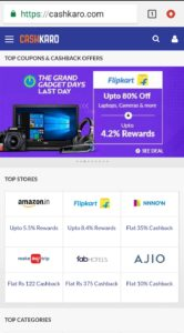 1 166x300 First Time Shopping Experience With CashKaro
