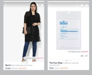 Items 300x245 First Time Shopping Experience With CashKaro