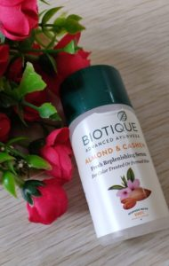 Biotique almond cashew serum1 190x300 Biotique Almond Cashew Fresh Replenishing Serum Review