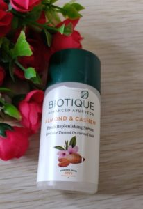 Biotique almond cashew serum2 206x300 Biotique Almond Cashew Fresh Replenishing Serum Review