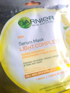 IMG 20181011 125545 e1553087984230 225x300 Garnier Naturals Light Complete Serum Mask Review