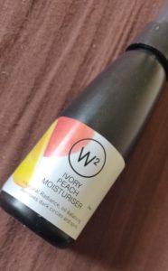 W2 moisturizer 186x300 W2 Ivory Peach Moisturiser Review