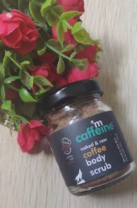 Coffee body scrub 198x300 M Caffeine Coffee Body Scrub Review