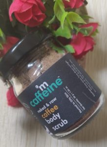 Coffee body scrub1 219x300 M Caffeine Coffee Body Scrub Review