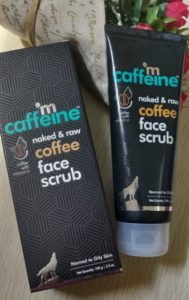 Coffee face scrub1 189x300 M Caffeine Coffee Face Scrub Review