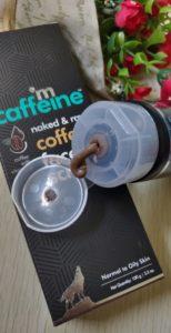 Coffee face scrub3 154x300 M Caffeine Coffee Face Scrub Review