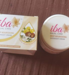 Iba cream1 275x300 Iba Halal Deep Nourishing Overnight Cream Review