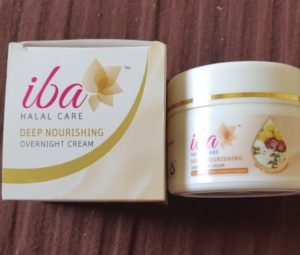 Iba cream2 300x255 Iba Halal Deep Nourishing Overnight Cream Review