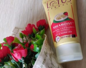 Lotus moisturizer2 1 300x238 Lotus Sheamoist Moisturizer Review