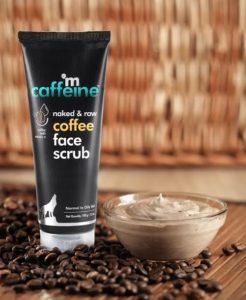 %name M Caffeine Coffee Face Scrub Review