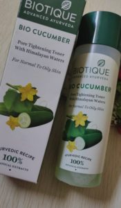 Biotique bio cucumber1 175x300 Biotique Bio Cucumber Pore Tightening Toner Review