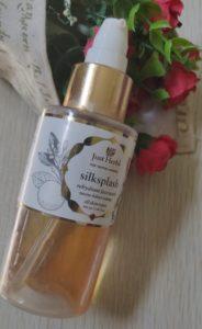 Justherbs facewash 184x300 Just Herbs Silksplash Neem Orange Rehydrant Face Wash Review