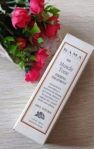 Kama muscle tone3 189x300 Kama Ayurveda Muscle Tone Firming Treatment Oil Review