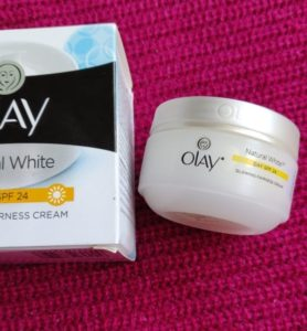 Olay cream3 278x300 Olay Natural White Day Cream Review