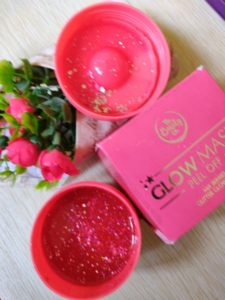 Glow mask3 225x300 The Beauty Co. Glow Mask Peel Off Review