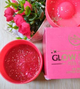 Glow mask4 272x300 The Beauty Co. Glow Mask Peel Off Review