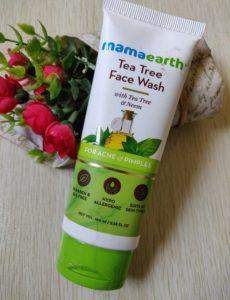 Tea tree face wash1 230x300 Mama Earth Tea Tree Face Wash Review