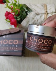 Choco face pack1 236x300 Mc Caffeine Choco Glow Face Pack Review