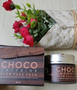 Choco face pack2 257x300 Mc Caffeine Choco Glow Face Pack Review