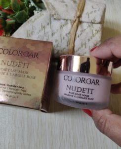 Colorbar1 245x300 Colorbar Nude It Rose Clay Mask Review